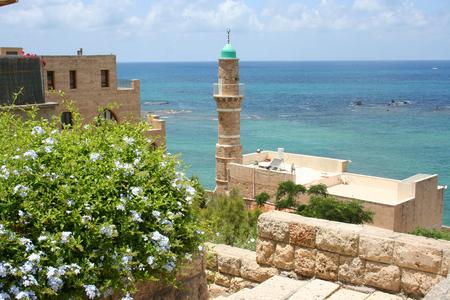 jaffa: views of the Mediterranean in Jaffa, Tel Aviv, Israel