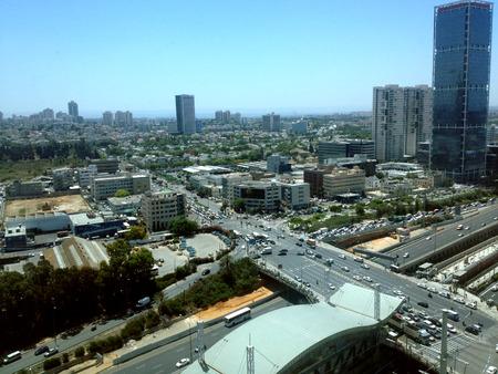 tel aviv: Tel Aviv Cityscape, Israel
