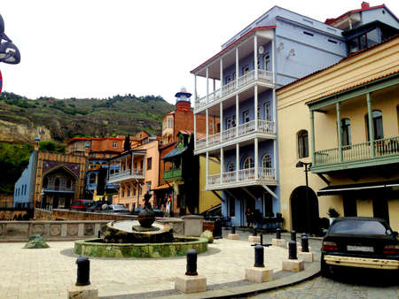 historic district: Tbilisi Old Town. Historic district of the capital of Georgia.