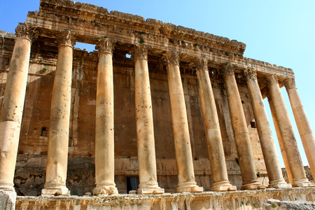 heliopolis: Baalbek, Lebanon, Middle East - is a town in the Beqaa Valley of Lebanon. Known as Heliopolis during the period of Roman rule, it was one of the largest sanctuaries in the empire and contains some of the best preserved Roman ruins in Lebanon.