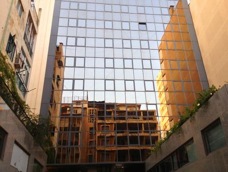 lebanon: Old and new architecture Beirut, Lebanon