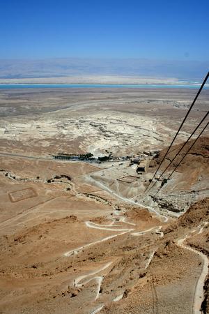 hebrews: Masada ruins are historical places in Israel