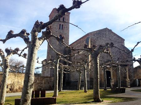 14th century: Ancient 14th century Church Santa Maria del Castillo in Buitrago de Lozoya, Madrid, Spain
