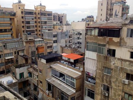 beirut: Beirut, Lebanon. Urban city scene from Beirut