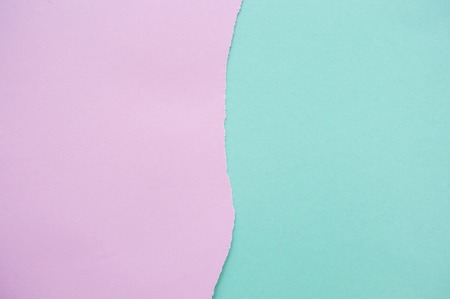 Background of fashionable pastel colors. Flat lay of soft color paper. Imagens