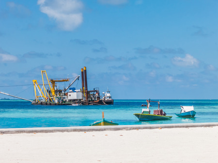 dredging: Sand and Gravel Dredging in the ocean