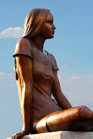 statua di angelo sulla cimitero Melaten in germania