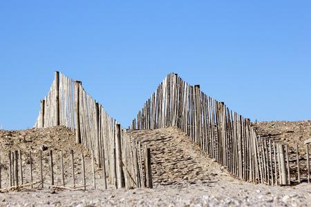 pensacola beach: A passage through the dunes to the beach