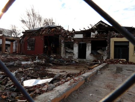 Damaged businesses from Christchurch earthquakes