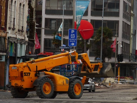 Demolition and recovery from Christchurch earthquakes
