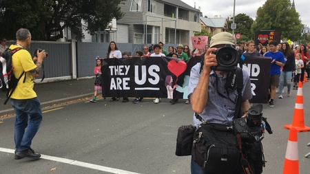 March for Love in Christchurch, New Zealand Mach 2019