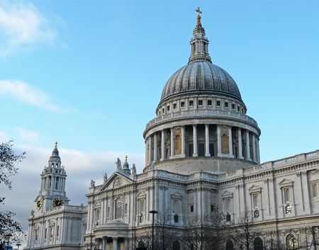 Saint Pauls Cathedral in London, England