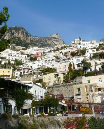 Positano on the Amalfi Coast of Italy photo