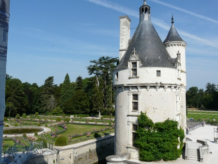Marques Tower at the Chateau de Chenonceau, near Chenonceaux in France