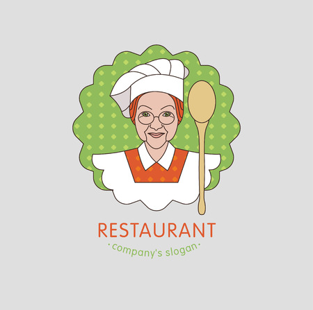 Restaurant. Vector restaurant, cafe home cooking.