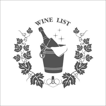 wine list: The wine list icon