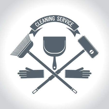 Service and cleaning icon
