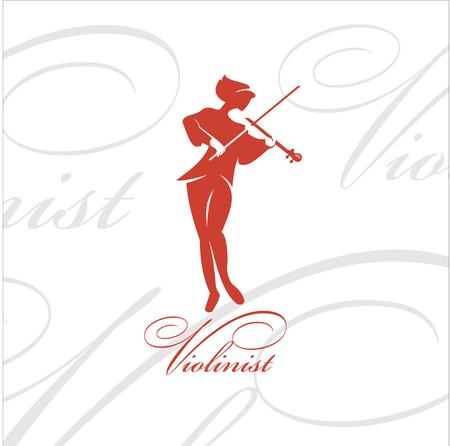 violinista: El m�sico - un violinista