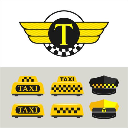taxista: signos de taxi