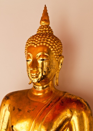 priory: the most beautiful buddha image in thailand Stock Photo