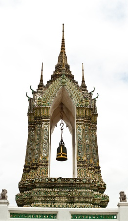 a beautiful pagoda in thailand Stock Photo