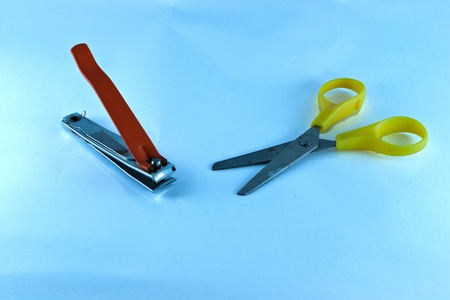 Scissors are beautiful and the colors are pretty. Stock Photo - 10861031