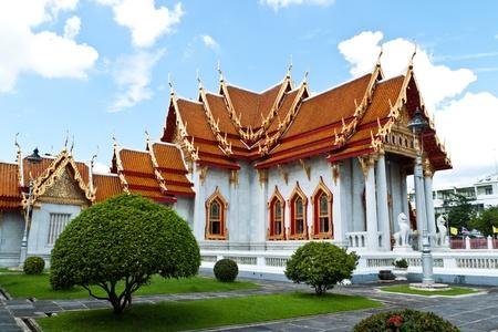 Tempio di Buddhismo dei pi� belli in Thailandia. Archivio Fotografico
