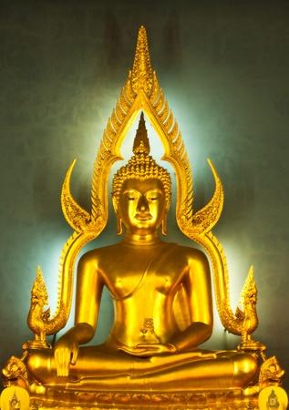 beautiful color statue of a Buddhist of Thailand Standard-Bild