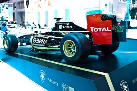 BANGKOK-DEC 01: Exhibición de coches en Tailandia Internacional del Automóvil de Expo 2011 Diciembre 01 - en Bangkok, Tailandia Foto de archivo - 11401051