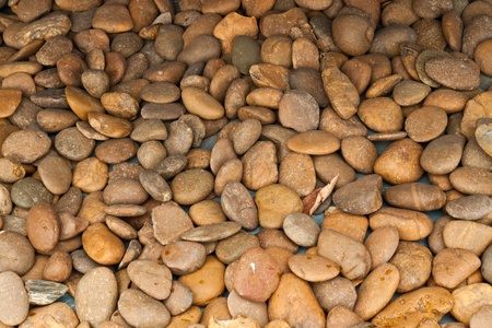 abstract background with round peeble stones Stock Photo - 12110068
