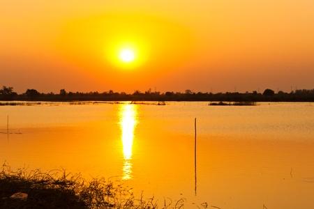 beautiful Red Sunset Stock Photo - 12297756
