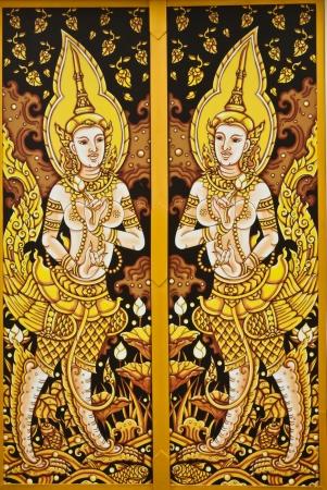 thai painting art Stock Photo - 12271906
