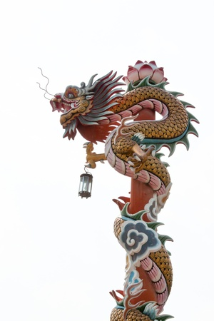 chinese style dragon statue Stock Photo - 12297558