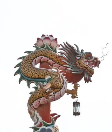 chinese style dragon statue Stock Photo - 12297384