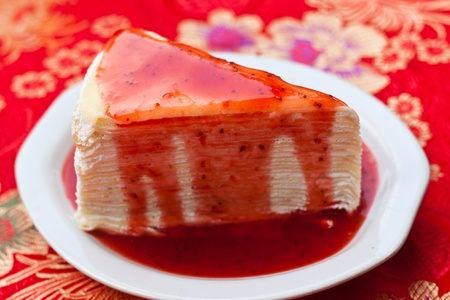 raspberry cake Stock Photo - 12297161