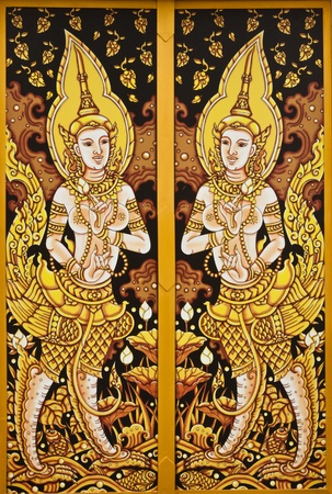 thai painting art Stock Photo - 12297118