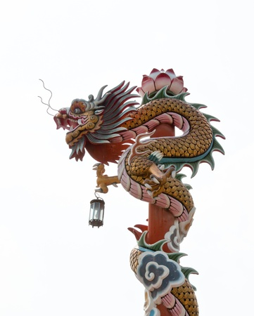 chinese style dragon statue Stock Photo - 12824351