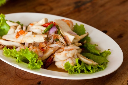herb salad   Thai food  photo