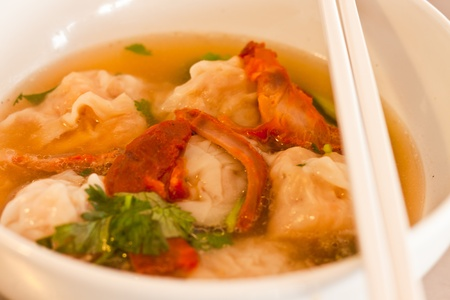 shrimp Wonton Soup photo