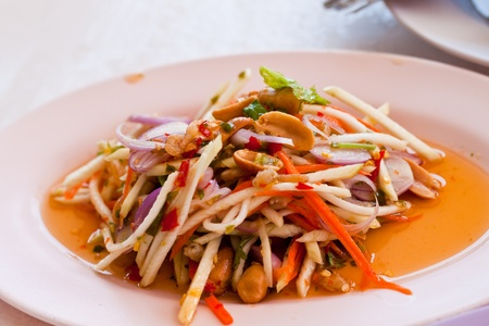 Herb salad photo