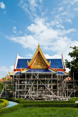 buddhism temple of the most beautiful in Thailand  Stock Photo