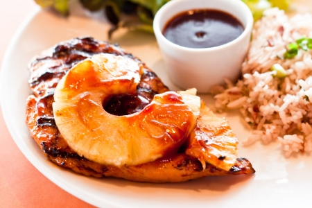 gourmet grilled steak flavoured photo