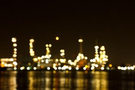 Raffineria impianto zona
