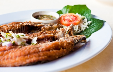 fried fish photo