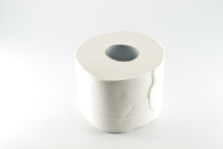 paper toilet rolls Stock Photo - 17597129