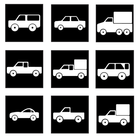 car icons Stock Vector - 21423127
