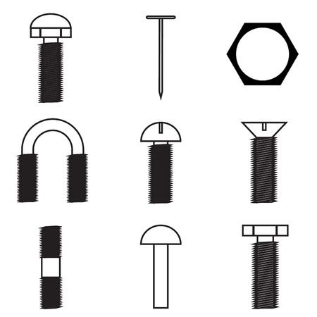 Set di icone viti