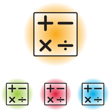 maths department: Calculator icon