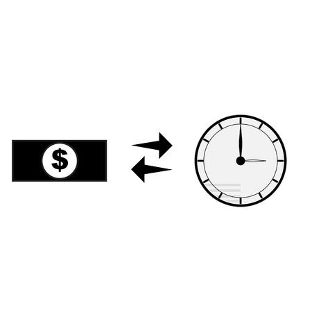 money buy time Vector