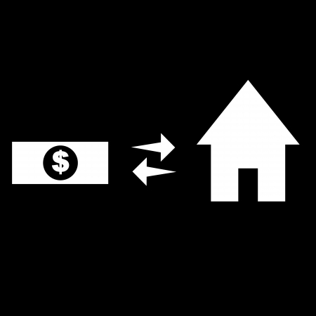 money buy home Vector